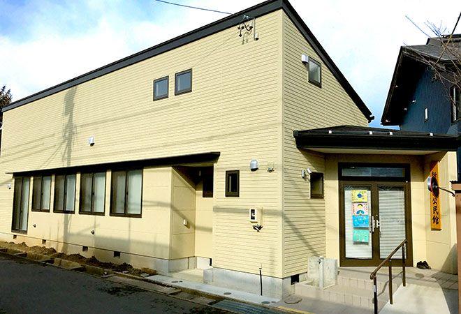 長野市篠ノ井新田西公民館新築のお手伝い