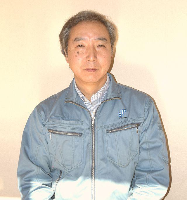 専務 兼 設計部長 小林 秀幸
