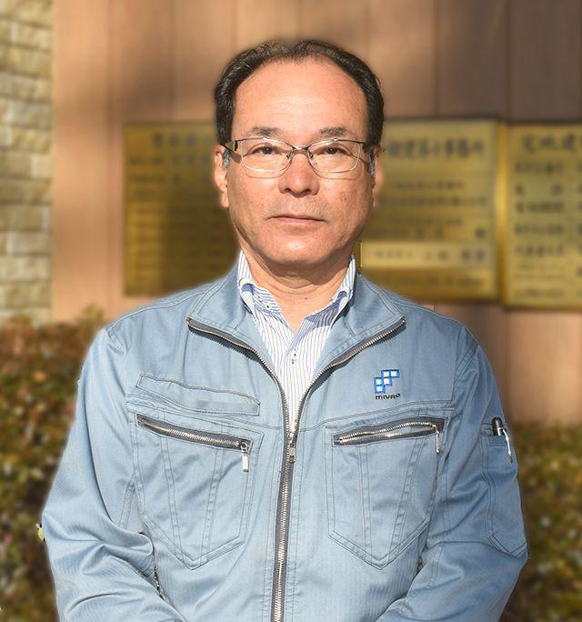 常務 兼 営業部長 藤田 勇治