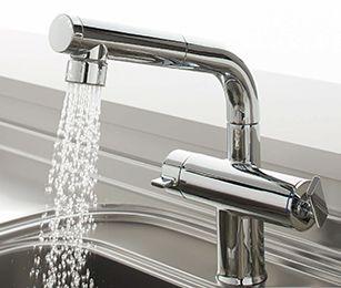 バブルシャワー水栓