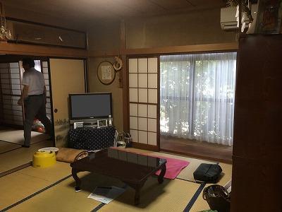 ■長野市I様邸 リフォーム。リビング、キッチン等施工前