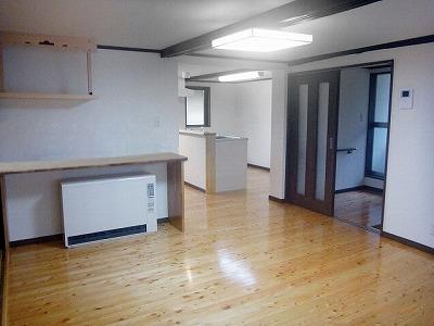 ■長野市S様邸 リフォーム。キッチン、リビング、玄関等施工後