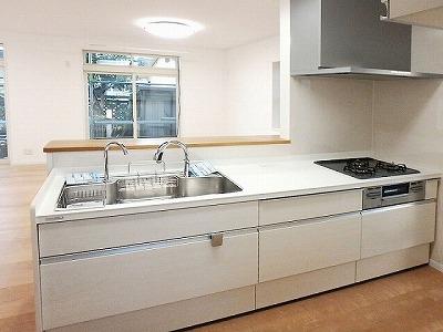 ■長野市U様邸 リフォーム。リビング、キッチン等施工後