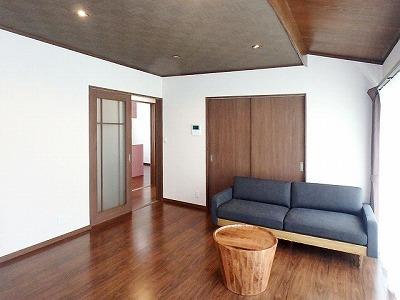 ■長野市M様邸 リフォーム。リビング、キッチンなど施工後